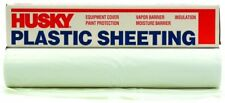 8 Ft. 4 In. X 100 Ft. Roll White 4 Mil Flame Retardant Plastic Sheeting Covering