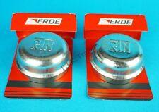 2 x 47mm Genuine Erde Metal Grease Hub Dust Wheel Cap Trailer Brakes