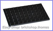 Lego Platte Grundplatte schwarz (6 x 10) - 3033 - Black Plate - NEU / NEW