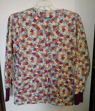 Womens Nursing Uniform.Crest Scrub Jacket.Size S.Excellent Condition