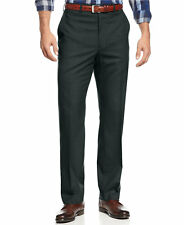 $275 MICHAEL KORS Mens Classic Fit Trousers Gray FLAT FRONT DRESS PANTS 44W 30L