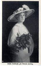 Die anerkannt schönsten Frauen von Wien: Gräfin Sierstorpff geb.Baronin Herring