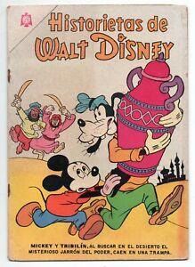 HISTORIETAS de WALT DISNEY #308 Novaro Mexican Comic 1965