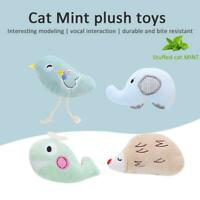 Cat Toy Mini Cat Grinding Catnip Toys Funny Interactive Plush Teeth Pet Kitten