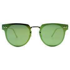 """NEW SPITFIRE Silver/Yellow """"CYBER"""" Flat Lens Sunglasses -SALE"""