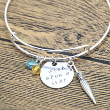Pinocchio Inspired bracelet Jiminy Cricket Wish Upon A Star Elements crystals