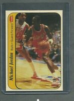 Michael Jordan 1986/87 Fleer Rookie Sticker #8 RP GEM MINT Condition