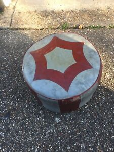 vintage footstool pouffe Ok Condition