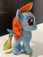 "New My Little Pony Plush Rainbow Dash 8"" Plush 2019 SUPER CUTE Sparkly Wings"