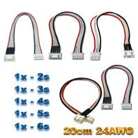 (5x) 2s 3s 4s 5s 6s Lipo Akku Balancer Kabel Verlängerung Ladekabel JST-XH 20cm