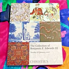 CHRISTIES AUCTION CATALOG 26 JANUARY 2010 NEW YORK B. F. EDWARDS III COLLECTION