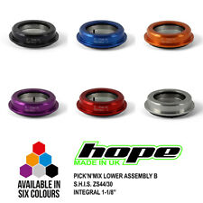 """Hope Pick'n'Mix Lower Assembly B Headset S.H.I.S. ZS44/30 1-1/8"""" Integral - New"""
