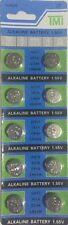 10x LR44 157 357 AG13 V13GA Knopfzellen Alkaline Batterien Uhrenbatterie b3