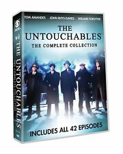 The Untouchables Complete TV Series Season 1-2 (42 EPISODES) NEW 7-DISC DVD SET