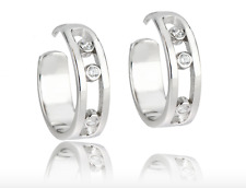 Stylish Messika Paris style Jewelry Sterling Silver Earrings