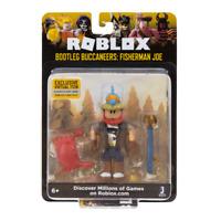 SEALED New ROBLOX Celebrity Action Figures Accessories BUCCANEERS FISHERMAN JOE