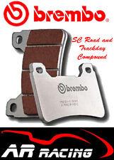 Brembo Sc road/track Delantera Pastillas De Freno para caber Bimota 650 supermono Biposto 96-00