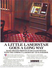 LASERSTAR CD-51 Ver #2 ROWE AMI 1995 ORIG NOS JUKEBOX PHONO SALES FLYER BROCHURE