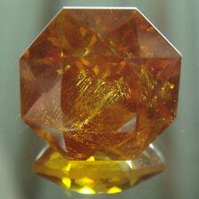 * Rare sphalérite taillé 17.60 carats d'espagne très lumineuse ! *