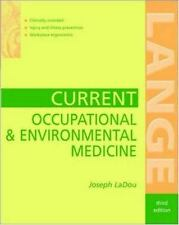 Current Occupational & Environmental Medicine (Lange Medical Books)-ExLibrary