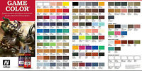 Vallejo Game Color Choose Mix From Full Range Of 17ml Paints Fantasy Art Colours