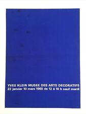 Yves Klein orignal poster 1969