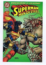Doomsday Is Coming Superman The Man Of Steel #1 Kenner Promo Comic 1995 VG/Fine