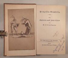 E. T. A. HOFFMANN: PRINZESSIN BRAMBILLA, Neudruck Insel-Verlag 1919, Ill. Callot