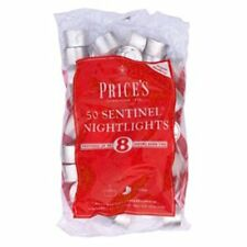 Prices Patent Candles Sentinel Nightlights Bag Of 50 Tea lights UpTo 8 Hour Burn