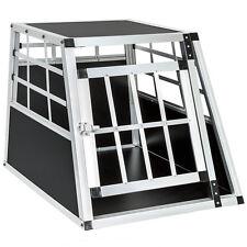 Cage box caisse de transport chien mobile aluminium single