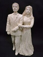 "Milestone Moments ""Now and Forever"" Bride & Groom Figurine #3005 By Drake"