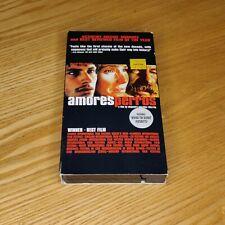 Amores Perros 2000 Rare Vhs Cannes Film Festival Winner Emilio Echevveria