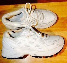 ASICS womans Dynamic Duomax Gel Soles sneakers white on white size 6.5