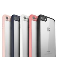 IPHONE 6 7 8 PLUS Slim Case HYBRID Soft Silicone + Thin Cover Design APPLE