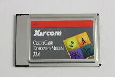 XIRCOM CEM33 CREDITCARD ETHERNET + MODEM 33.6  ADAPTER PCMCIA NO CABLES