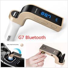 G7 Bluetooth Car MP3 Music Player FM Transmitter Modulator USB Charger Handsfree