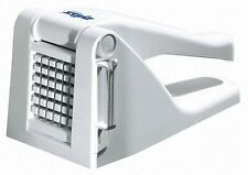 Zyliss Potato Chipper With 2 Blades (7 mm and 9 mm) - White Chopper Cutter New