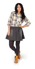 Denim Machine Washable Mini Regular Size Skirts for Women