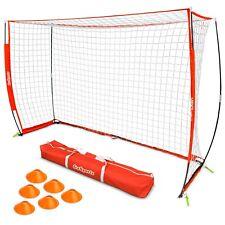 GoSports ELITE Futsal Soccer Goal - 3M x 2M Size, Foldable Bow Frame and Net