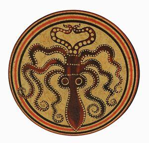 Minoan Art Pottery Pyxis - Octopus - Jewellery Box - Ancient Crete