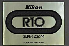 Nikon R 10 Bedienungsanleitung  (D)