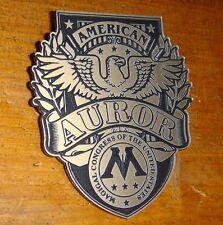 CUSTOM AMERICAN AUROR'S BADGE HARRY POTTER AUROR WIZARD MAGIC