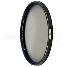 ZOMEI 72mm 18 layer Multi Coated Polarizer Ultra Slim CPL Filter Waterproof Lens