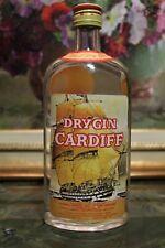 GIN – CARDIFF DRYGIN cc.750 / 40° BOTTIGLIA ANNI 70 / 80 ACCORDING TO THE FORMUL