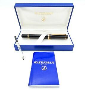 Waterman Le Man 100 Fountain Pen: 18k Gold Medium - Mint