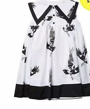 NWT Carbon Soldier Bird Print Shift Dress 3T