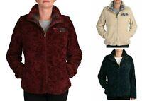 Pendleton Ladies' Fuzzy Zip Jacket Women's Sherpa Coat - Red, Navy or Cream