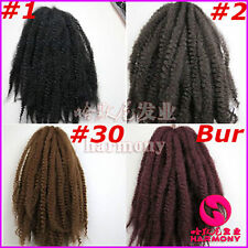 20 INCH SOFT SILKY AFRO NATURAL HAIR KINKY/TWISTS/BRAID/MARLEY 100G