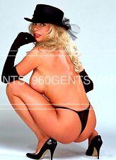 "1990s 8X10 NUDE PHOTO BIG NIPPLES NICE ASS PORN STAR ""OLIVIA"" FROM ORIGINAL NEG3"