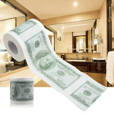 Funny One Hundred Dollar Bill $100 Toilet Roll Paper Money Novel Joke Gag Gift